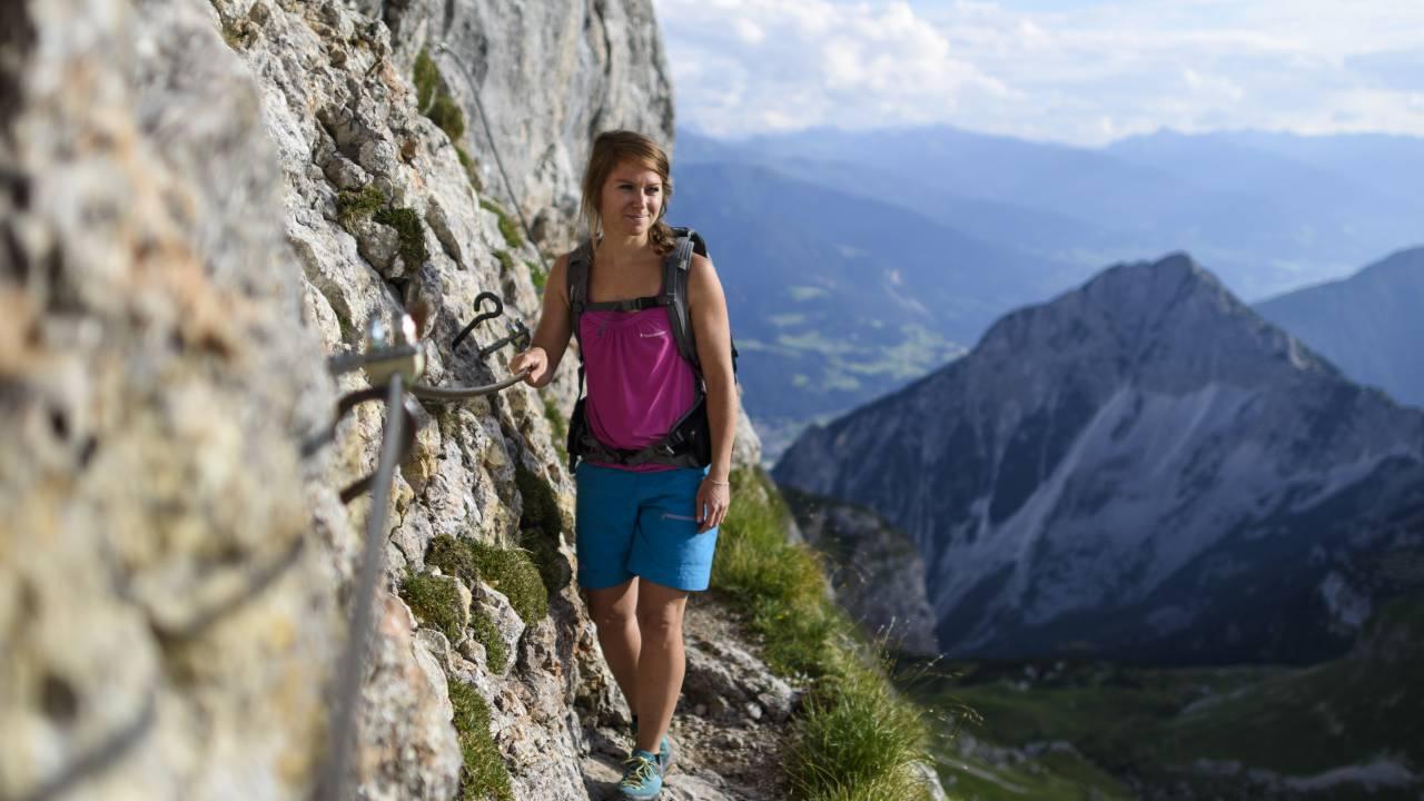 Klettersteig Achensee : Klettern in rofan und karwendel verwöhnhotel kristall